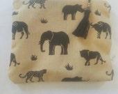 African Pouch, Coin Purse in Africa Plains