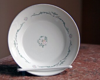 Signature Collection - Select Fine China - Japan - Petite Bouquet Design - Single Small Bowl for dessert, cereal, ice cream, serving, etc.