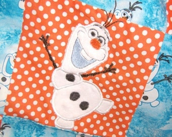 Ready To Ship- Olaf Baby Security Blanket