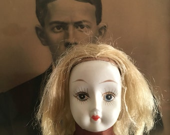 Evil Porcelain Doll Vintage- Halloween Haunted Prop