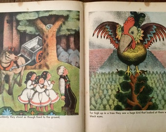 Ola and Blakken Children's Story Book by Ingrid & Egdar Parin d'Aulaire Copyright 1933