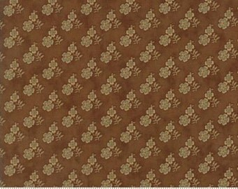 Gratitude Light Brown Floral 38005 16 Jo Morton Moda Floral Fabric