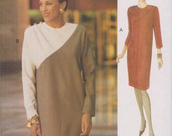 The Vogue Woman 8714 Uncut Sewing Pattern Misses Dress Size 8-10-12