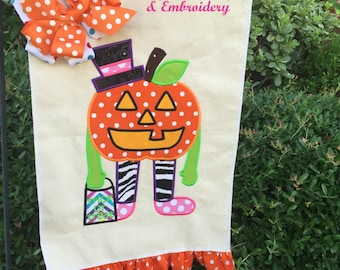 Halloween Yard Flag,Trick Or Treat Garden Flag,If The Shoe Fits Garden Flag,Personalized Halloween Yard Flag, Trick Or Treat Flag