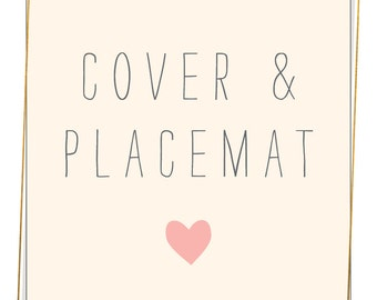 Pick 1 Cover + 1 Placemat and SAVE