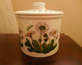Portmeirion Botanical Daisy Bellis Perennis Sugar Bowl