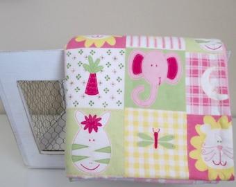 Little Jungle Baby Girl Blanket