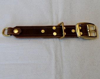 Slimline Belt System - BROWN BUCKLE PIECE