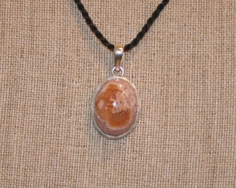 Mexican Fire Opal Pendant for Jewelry Design plus Free USA Shipping!