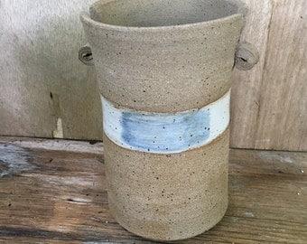 Contemporary Stoneware Vase