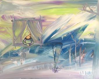 Tornado-  Giclee Art Print