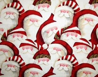 """Santa Santa Fabric 21 x 19"""""""