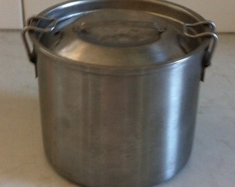 Stainless Steel Container with Locking Lid by Crusader