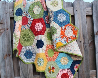 Quilt / Baby Quilt / Quilts for Sale / Custom Quilts / Gender Neutral Unisex Quilts /  Crib Bedding / Children Quilts / Made to Order