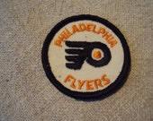 vintage 70s Philadelphia Flyers Hockey Team Sew On Patch