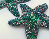 Pasties, Starfish, Ready to Ship, Burlesque, Valentines, Mermaid, Cabaret, Glitter, Beaded, Sequins, Showgirl, Hippy, Festival