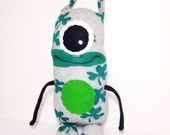Lucky Leo - Handmade Monster, Sockmonster