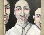 Male Portrait , Male , Group Portrait , Painting , Wil Shepherd Studio , Men , Group of Men , Art , Fine Art , Wil Shepherd , Original
