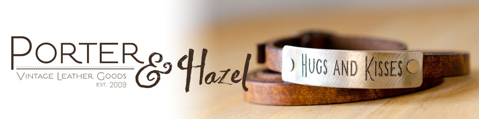 Porter and Hazel on Etsy