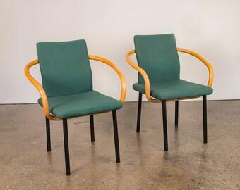 Ettore Sottsass Mandarin Chairs