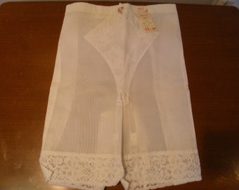 Vintage 1960's  Deadstock Olga Girdle Panty w/Garters  Small/Extra Small