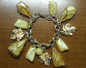Vintage 1960's  Charm Bracelet