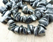 Blackstone Large Chip Beads 15 inch Strand 10-20mm