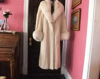 Stunning Mink Coat By Dior