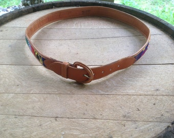 Vintage Mexican Western Style Belt