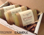 GIFT PACK--3 Pack Mix & Match~~organic Tamanu oil and Sea Buckthorn oil 100% soaps~~Free U.S. Shipping