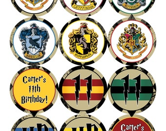 Harry Potter Cupcake Toppers