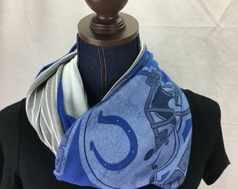 Indianapolis Colts Recycled T Shirt infinity scarf
