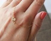 Swarovski Necklace,Tiny Gold Necklace,Swarovski Crystal,Dainty Necklace,Delicate Necklace,Simple Necklace