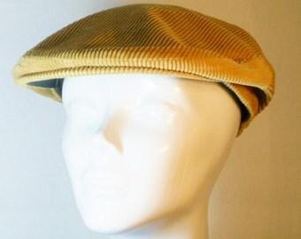 Vintage Stetson Corduroy Newsboy Cap, Accessories