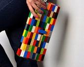 Oversize multicolor clutch in bulk