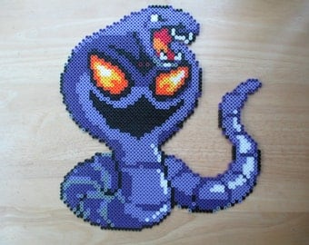 Pokemon, Arbok, pokemon Arbok, pokemon eveloution. pokemon art, pokemon perlers, pokemon gifts, anime, anime gifts, video game, retro game