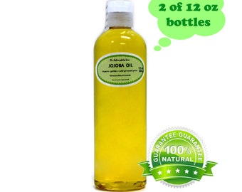 24 oz Pure Golden Jojoba Oil Organic Cold Pressed Virgin
