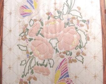 Butterfly Fantasy Stitchery Kit, NOS DiY Project