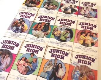 M. L. Kennedy, Kate Kenyon Junior High Books, Vintage 1980s Book Series with 12 Books (L4)