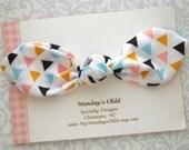 Baby Bow Headband, Baby Knot Headband, Knot Bow Headband, Knot Headband, Baby Headband, Toddler Bow, Toddler Headband, Baby Bows