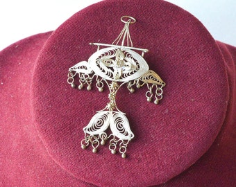 Sterling Silver Brooch or Pendant Sterling Silver Jewelry