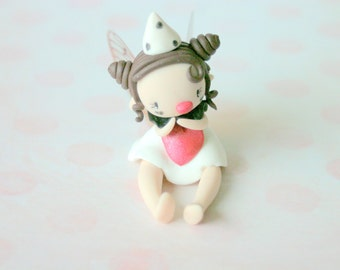 Circus Clown Fairy Figurine