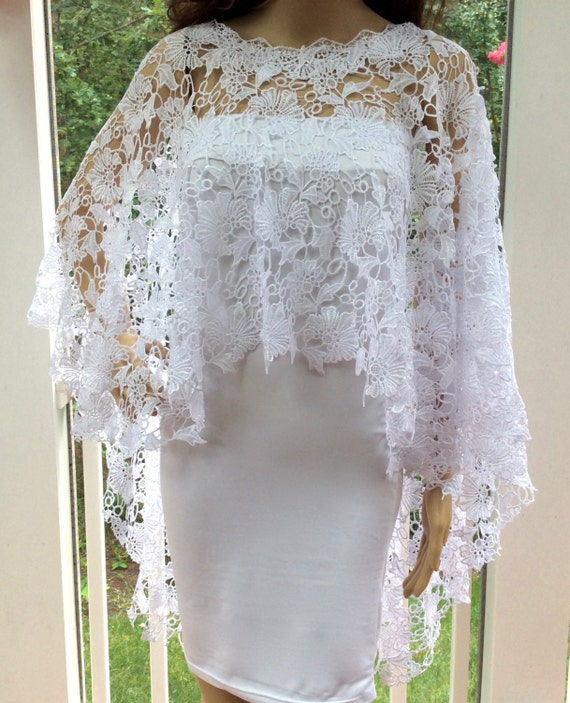 Wedding Gown Cover Ups: Lace Cover Up Wedding Cover Up Bridal Cover Up White Cover