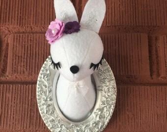 Mini Bunny Faux Taxidermy