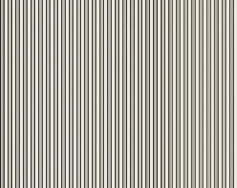 Black and Cream Stripe - Lost and Found Halloween from Riley Blake - Full or Half Yard