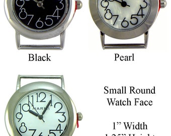 Small Round Solid Bar Watch Faces for Interchangeable Bracelet Watch