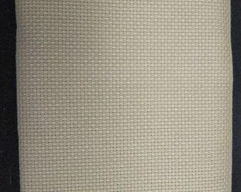 "Aida Cloth Sage/SummerKhaki  14ct 18""x25"""