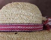 Hatband, Handspun and Handwoven from Naturally Dyed Churro Wool, made in New Mexico