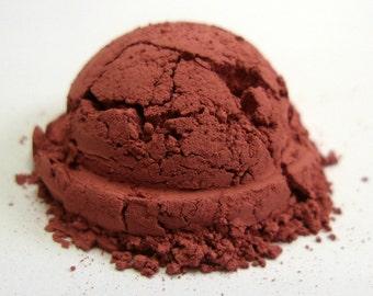Burgundy Pink Matte Mineral Blush - BRAZEN
