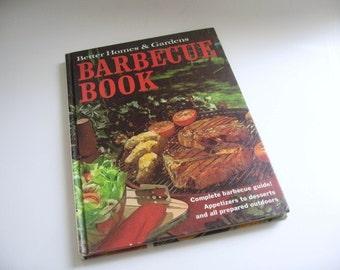 Vintage Cookbook - Better Homes & Gardens Cookbook - Barbecue Cookbook 1969